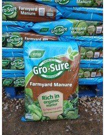 Farmyard Manure 50lt Bag, Gro-Sure Farmyard Manure