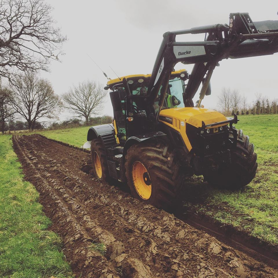 Mud on the Tyres and Ploughing
